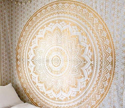 Golden Ombre Tapestry 54X84 inches - Hipimi