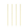 Set of 4 Wide Gold Cocktail Straws - Hipimi