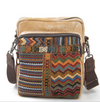 Vintage Style Ethnic Embroidered Canvas Bag - Hipimi