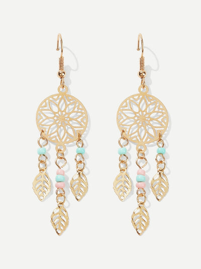 Dreamcatcher Drop Earrings - Hipimi