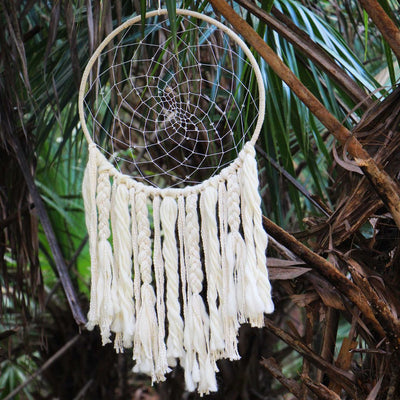 Large Sun Dreamcatcher - DZI (Meditation) - Hipimi