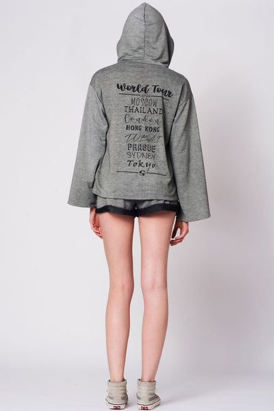 World Tour Sweatshirt - Hipimi