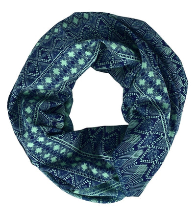 Tribal and Aztec Prints Light Weight Infinity Loop Scarves - Hipimi
