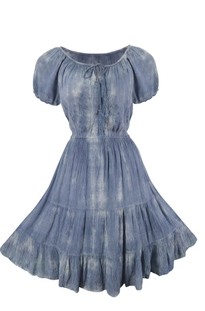 Vintage Smocked Gypsy Tank Dress - Hipimi