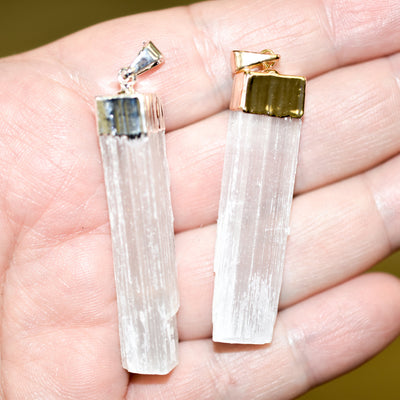Selenite Pendants - Hipimi