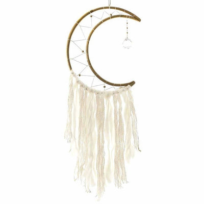 SMALL MOON DREAM CATCHER - DZI (MEDITATION) - Hipimi