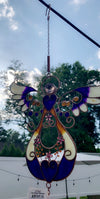 Amethyst Blooms Angel Wind Chime - Hipimi