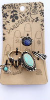 VINTAGE Boho RING SETS by Wildfire - Hipimi