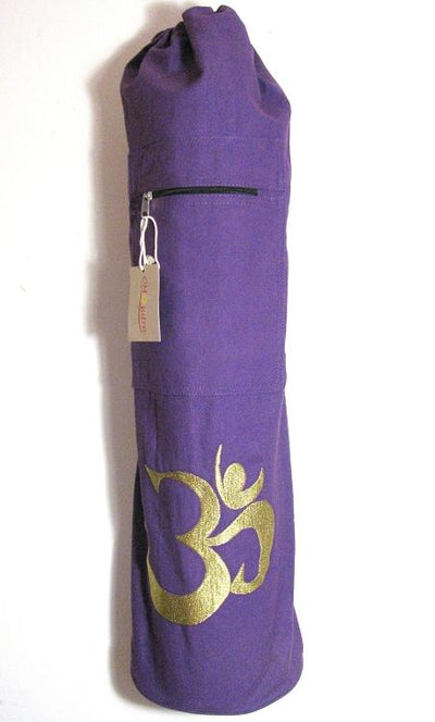 Yoga Bag - OMSutra OM Shiva Mat Bag -Drawstring - Hipimi