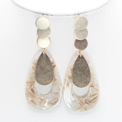 Drop Acetate Earring - Hipimi