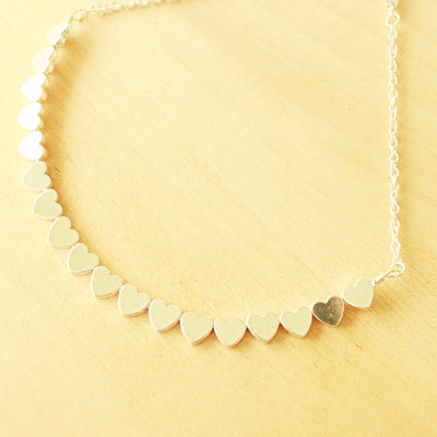 Lilly Heart Choker (Multiple Colors) - Hipimi