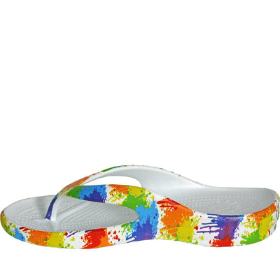 Women's Loudmouth Flip Flops - Drop Cloth - Hipimi