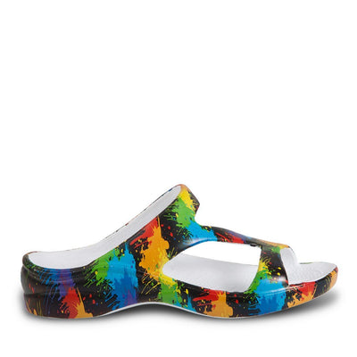 Women's Loudmouth Z Sandals - Paint Balls - Hipimi