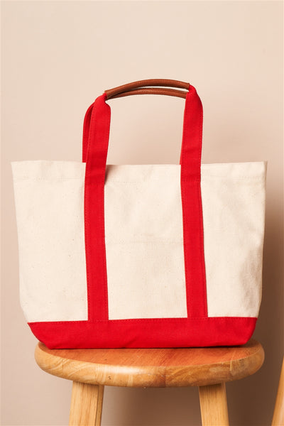 SUMMER CANVAS TOTE BAG - Hipimi