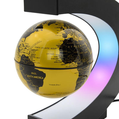 Magnetic Levitation Globe Night Light - Hipimi