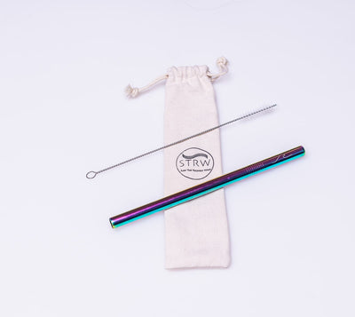 Reusable Smoothie/Boba Stainless Steel Straw - Hipimi