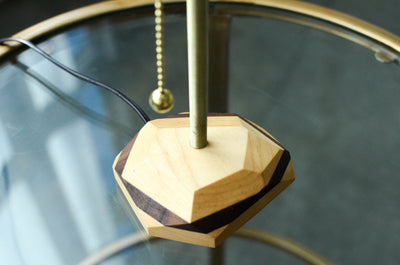 Geometric Wooden Lamp - Hipimi
