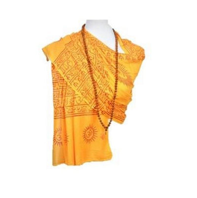 OM Bhakti Prayer Shawl - Medium -Color Base - Hipimi