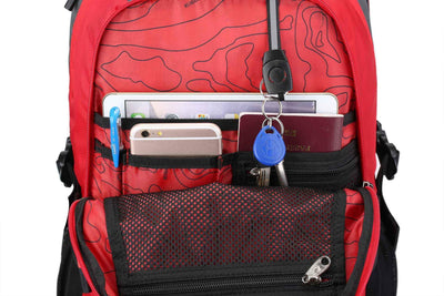 Ruigor Active 29 Laptop Backpack Red Grey - Hipimi