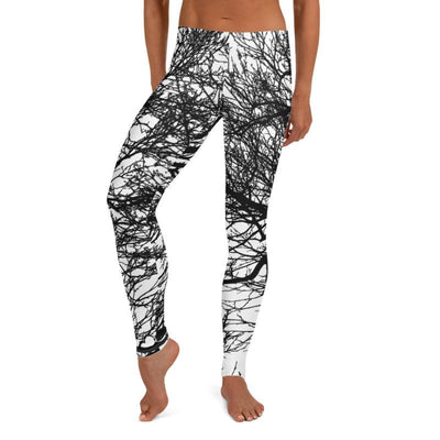 Tree Branches Leggings, Women's Leggings, - Hipimi
