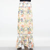 Flared Bottom Floral Maxi Skirt - Hipimi