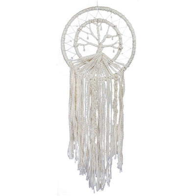 Tree of Life Dreamcatcher - DZI (Meditation) - Hipimi