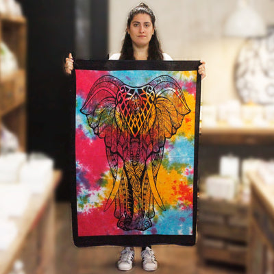 Elephant Cotton Wall Tapestry - Hipimi