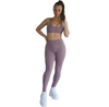 Prema Seamless High Rise Yoga Leggings - Plum - Hipimi