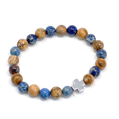 Set of 2 Gemstones Friendship Bracelets - Support - Hipimi