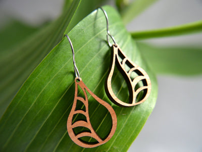 Vine Earrings in cherry - Hipimi