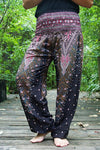 PEACOCK Women Boho Pants Hippie Pants Yoga Pants - Hipimi