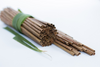 Leafy Straw - Coconut Palm Leaf Drinking Straws (50 Count) - FREE US Shipping
