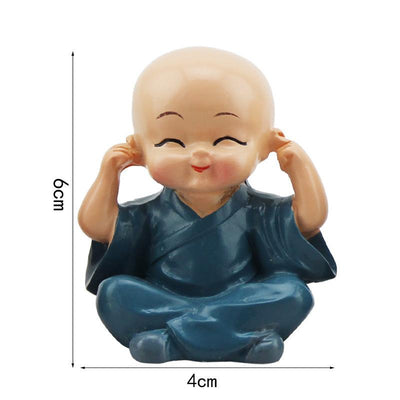 Little Monk Figurines 4 pc set - Hipimi
