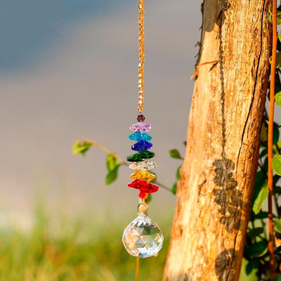 Chakra Crystal Ball Decor - Hipimi