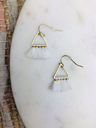 Mini Ellie Triangle Earring - Hipimi