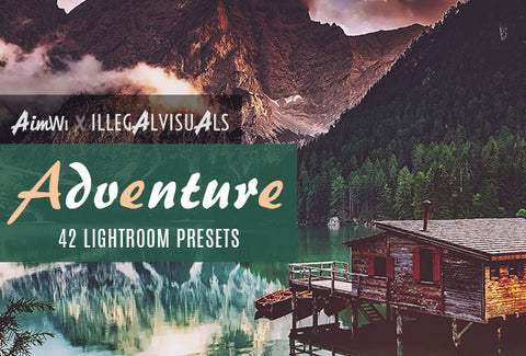 Lightroom Presets: Adventure (42 presets)