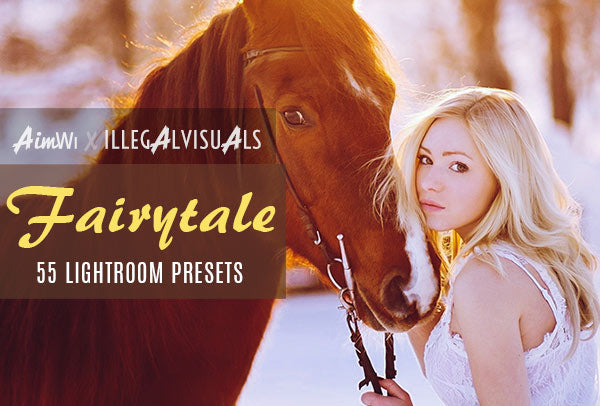 Lightroom Presets: Fairytale (55 presets)