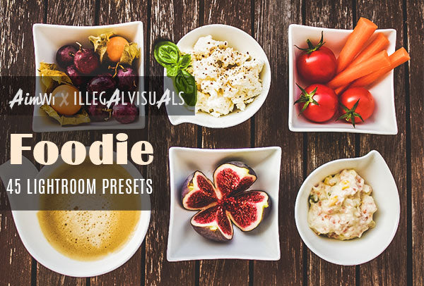 Lightroom Presets: Foodie (45 presets)