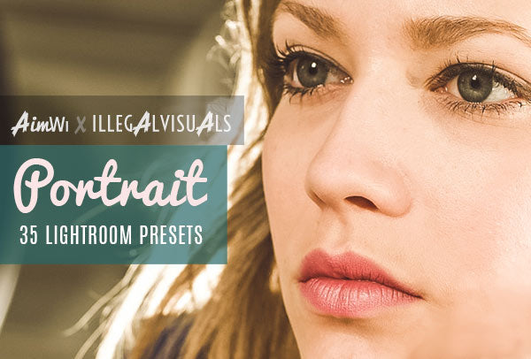 Lightroom Presets: Portrait (35 presets)