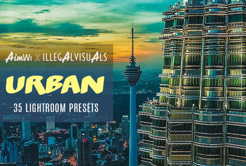 Lightroom Presets: Urban (35 presets)