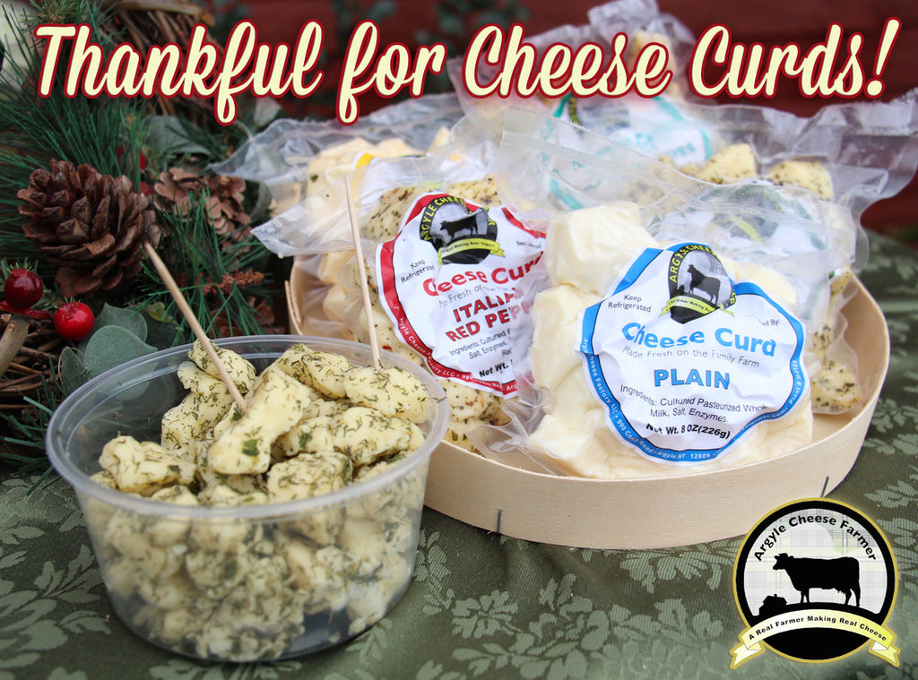 Cheese Curds for Holiday Parties