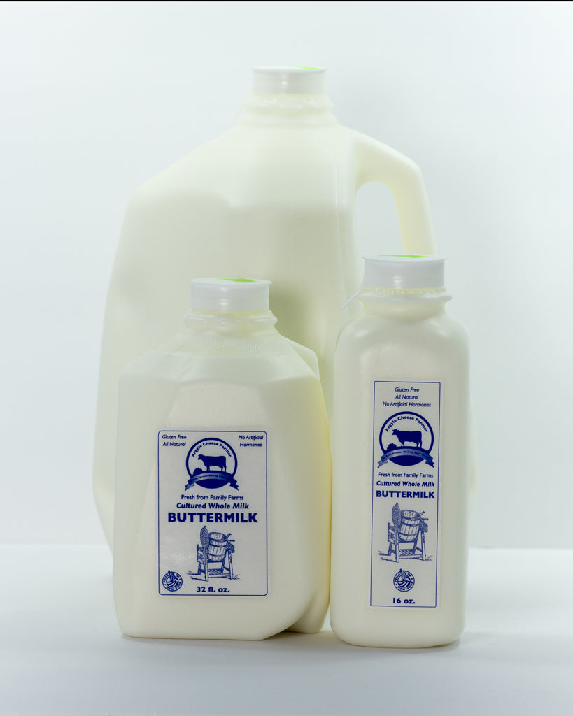 Cultured, Whole Milk Buttermilk