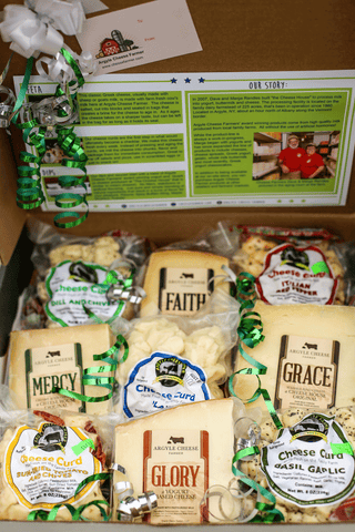 Holiday Cheese Sampler Box