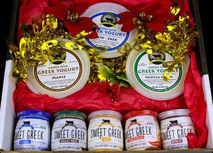 Sweet Greeks and Greek Yogurt Gift Box
