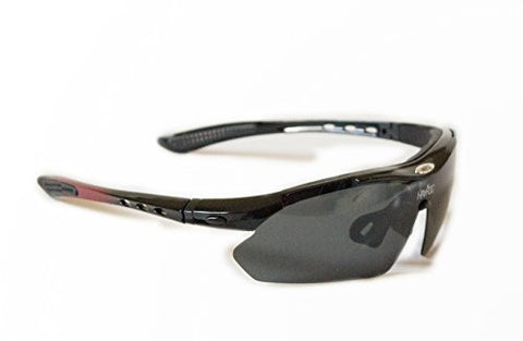 Rayroc Sunglasses with 5 interchangeable lenses.