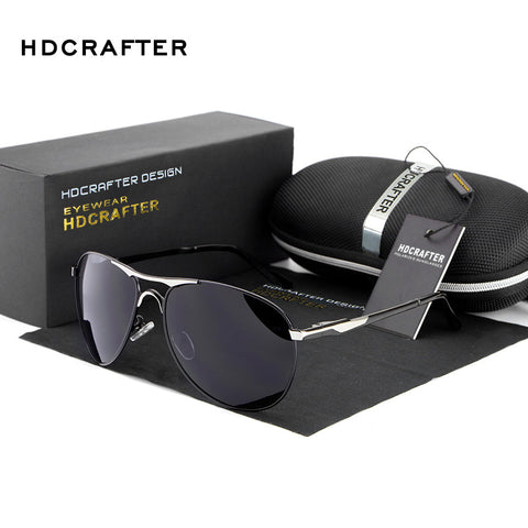 HDCRAFTER Designer Sunglasses, Polarized, UV Protection