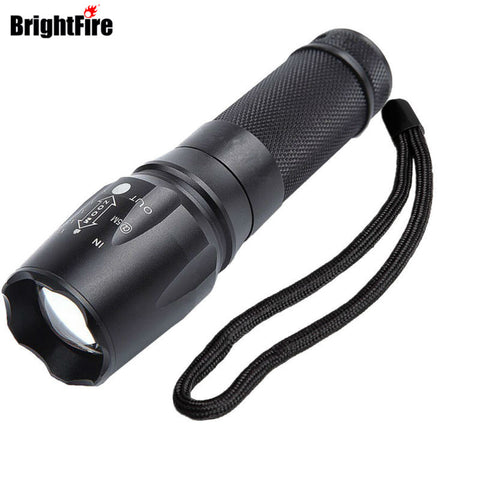 Tactical  LED Flashlight with 3800 Lumens, and 5 Adjustable Modes