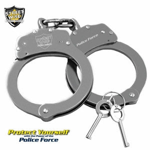 Streetwise Stainless Steel Handcuffs