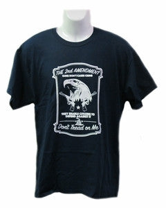 "The 2nd Amendment ""Don't Tread on Me"" T-shirt"