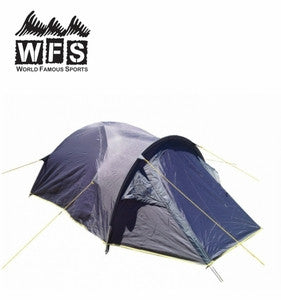 World Famous Sports 3 Season Tent with Vestibule- Sleeps 2